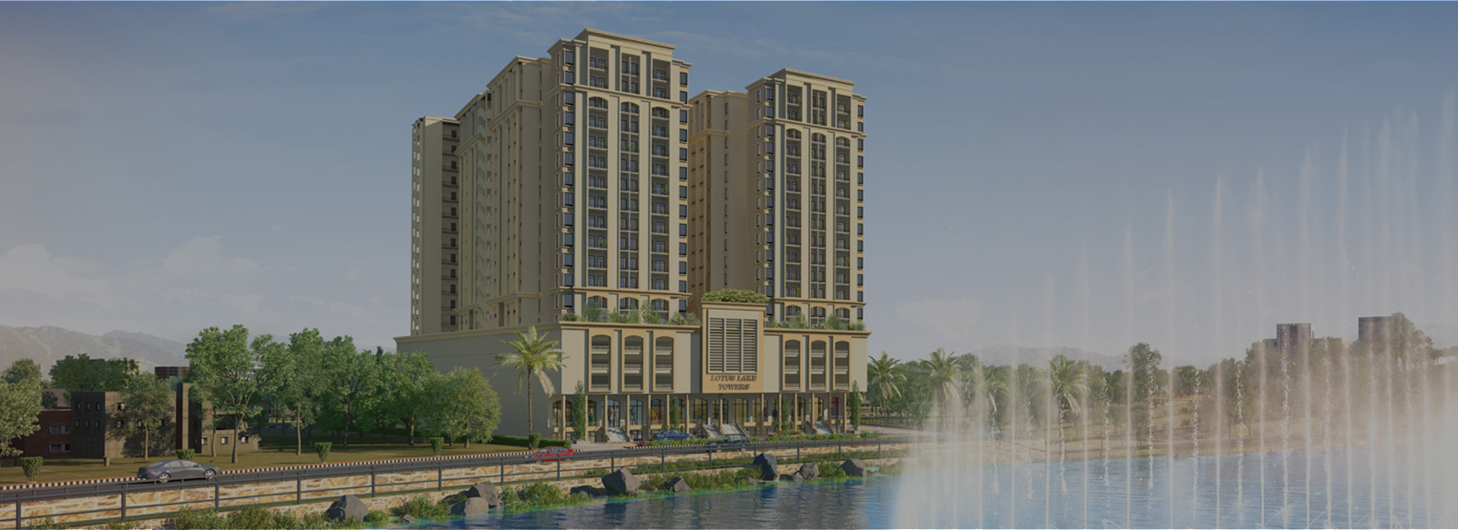 Lotus Lake Towers